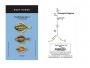 Greys Flatfish Rig Size 1, Two Hook Bead