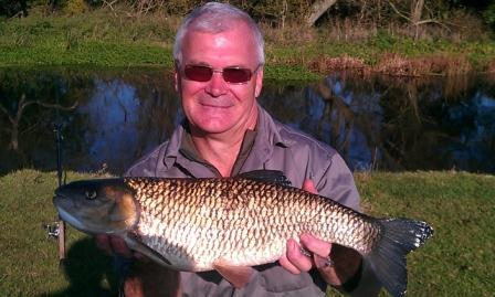 Brian Stocker with a smashing 7lb Chub