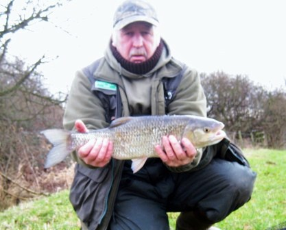 A happy looking Brian with a 5lb chub