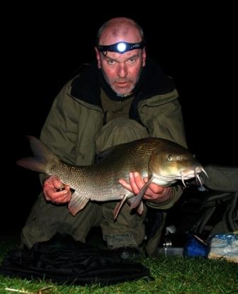 Dave Eley with a cracking 12lb 13oz barbel
