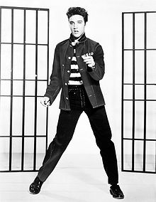 Elvis Presley and the gate