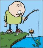 Whose fishing for who?