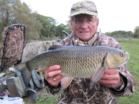 Keith Little with a lovely 6lb 13oz Throop chub.