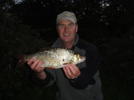 Kenny Parsons with a fabulous 2lb 2oz roach