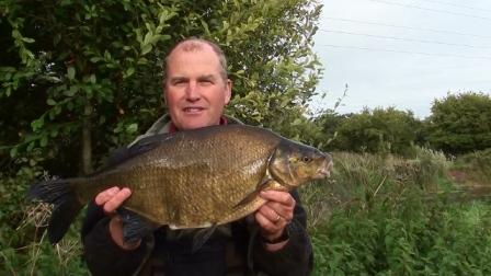 Throop regular Kenny Parsons and a 6lb 3oz Bream
