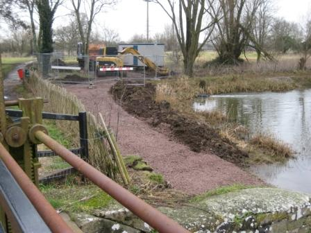 Work in progress on Throop Mill