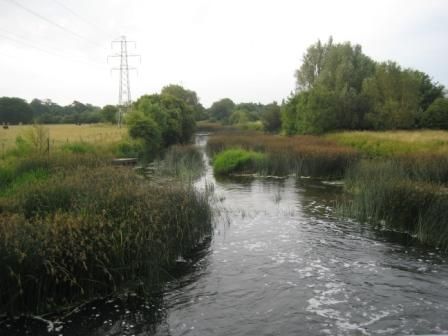 View downstream from New Weir