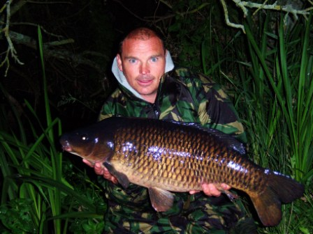 Paul Piper with his 20lb 12oz common carp from Throop