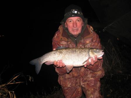 RDAA stalwart Phil Nixon with a 7lb 2oz chub taken at last knockings