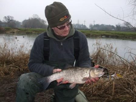 Ray Brown from Crawley with a 6lb 4oz chub