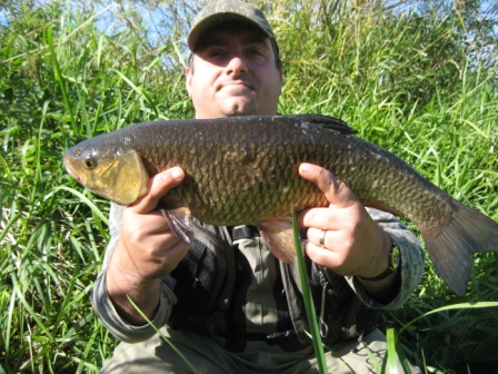 Rick Willson with a nice 5lb 7oz chub