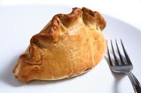 A cornish pasty (no, I'n not really sure either!)