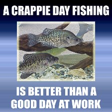 A crappie days fishing....