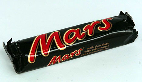 A mars a day....