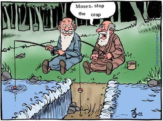 Moses plays a blinder in the local fishing match