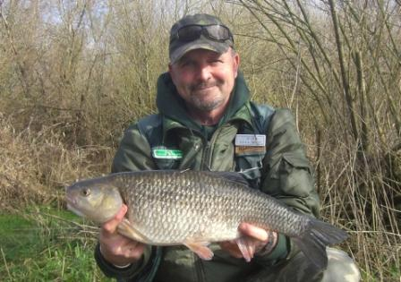 Nick Roberts with an end of season 6lb 6oz chub