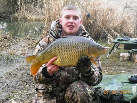 Scott Mosely with a fantastic example of a river common weighing 11lb 1oz