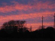 Sundown at Throop