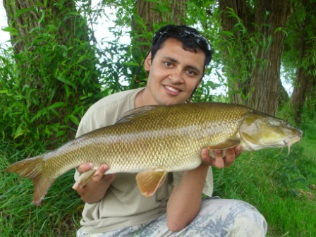 Ahmed and a 10lb 5oz caught just after the last Royalty Report