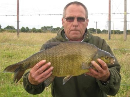 Chris Allport with a 10lb 3oz bream from Telegraphs