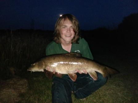 Craig Scattergood with his 11lb 9oz new PB