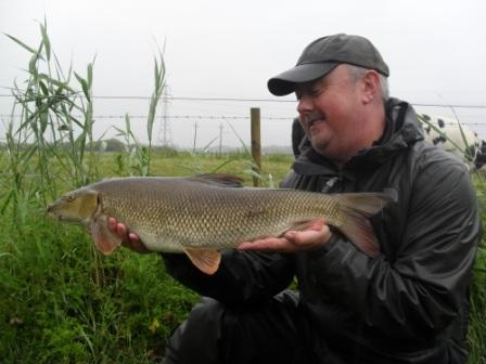 Jeff Edisbury and another classic looking Hampshire Avon barbel
