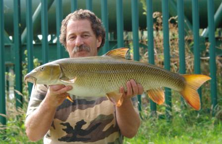 Ken Clayton with another superb looking double - this one went 13lb 8oz.