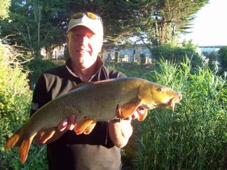 Malcolm Matthews with another Parlour double weighing 11lb 2oz