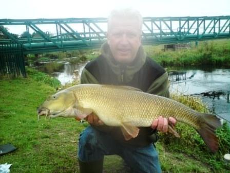 Malc Matthews with a really hard earned beauty weighing 14lb 3oz. It was his only bite in four days but well worth it!