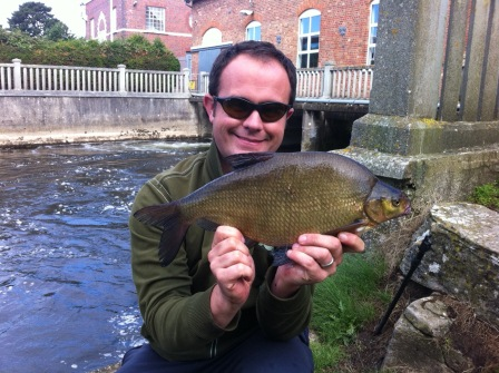 Marc Brion with a Parlour caught Bream