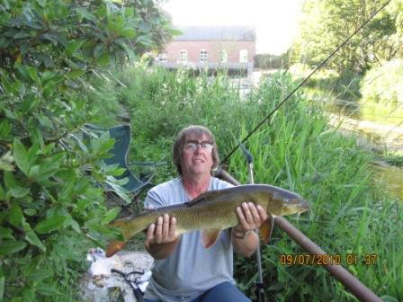 Paul again, this timew with a 10lb 14oz barbel