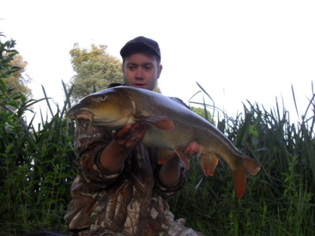 Shaun Miller with the first reported double from the Royalty this season weighing 11lb 11oz