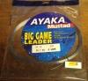 Ayaka Mustad Big Game Leader 50lb 50m 0.60mm