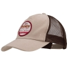 Hardy Logo Trucker Hat Khaki
