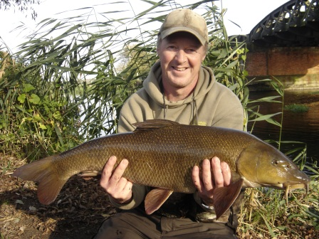 Trevor Ridley with his new PB weighing an impressive 15lb 1oz